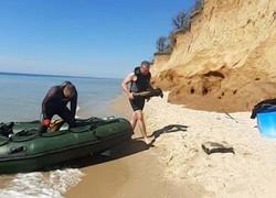 У побережья Одесской области спасатели разминируют затонувшее во время Второй мировой войны немецкое судно
