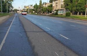 В Одессе создают велодорожку по Люстдорфской дороге