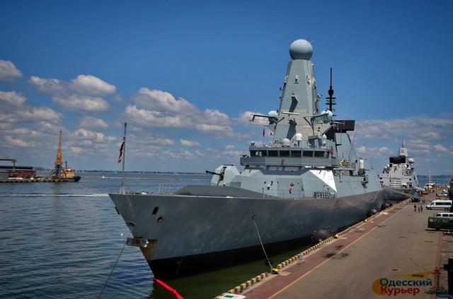 В Одессе Украина и Великобритания договорились о военно-морском сотрудничестве (ВИДЕО)