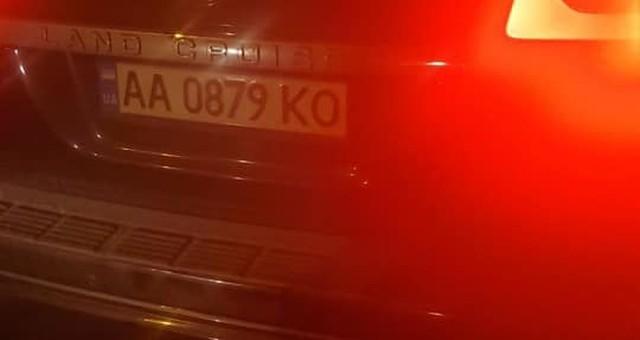 В Одессе полиция поймала пьяного нардепа за рулем