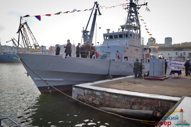 ВМС Украины в 2021 году сформируют дивизион из пяти патрульных катеров