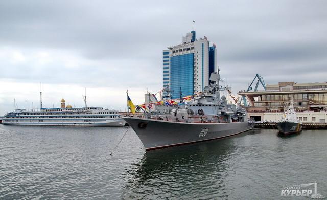 В Одессу на день флота приедет президент