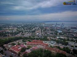 Одессу после сильного дождя показали с высоты (ФОТО)