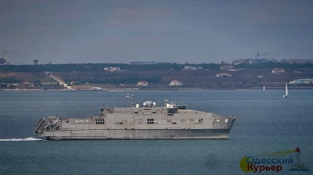 В Одессу идет американский скоростной десантный корабль