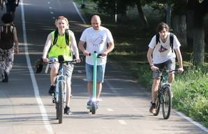 В Одессе собираются урегулировать движение электросамокатов