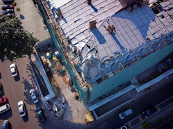 В Одессе рушатся перекрытия в доме Либмана (ФОТО, ВИДЕО)