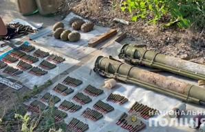 На въезде в Одессу со стороны Киева нашли гранатометы и гранаты (ФОТО, ВИДЕО)