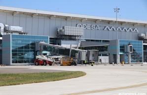 В одесском аэропорту монтируют первый телетрап