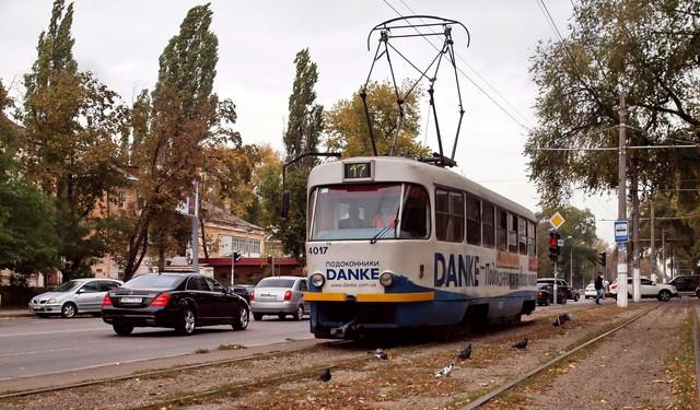 В Одессе депутат обещает надолго прекратить движение трамваев на Фонтан