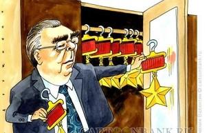 Как Меркель с Брежневым... советовалась...