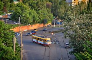В Одессе не ходит один из трамвайных маршрутов