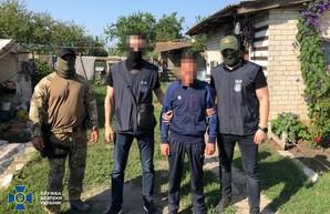В Одесской области задержали наемника-террориста