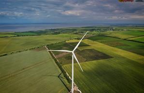 В Одесской области ввели в эксплуатацию ветровую электростанцию на 76 мегаватт