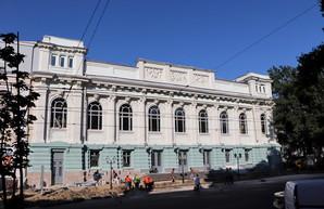 В Одессе заканчивают ремонт Украинского театра (ФОТО)