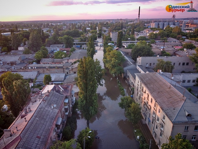 В Одесской области объявили штормовое предупреждение