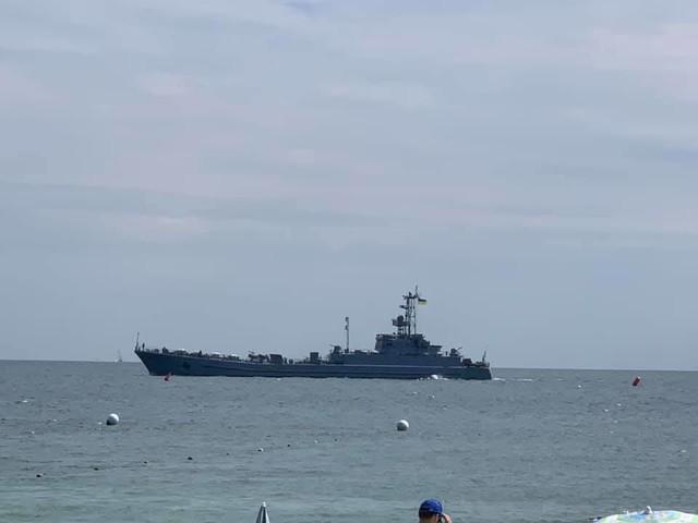 В Одессе продолжаются репетиции морского парада (ФОТО)