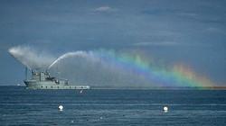 Около пляжей Одессы прошла генеральная репетиция морского парада (ФОТО)