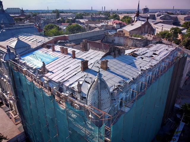 Дом Либмана в центре Одессе обещают отремонтировать до конца года (ВИДЕО)