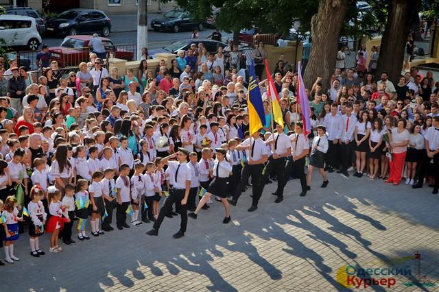 Школьных линеек в Одессе завтра не будет