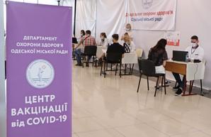 В Одессе на выходных получили прививки от ковида почти восемь тысяч человек