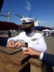 Для ВМС Украины официально заложили первый корвет (ФОТО)