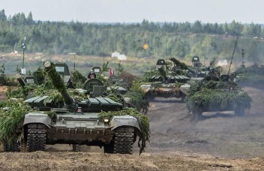 Россия и Беларусь проводят военные учения
