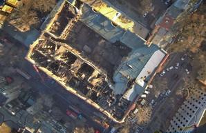 В Одессе собираются восстанавливать сгоревший дом Асвадурова для муниципальных учреждений (ВИДЕО)
