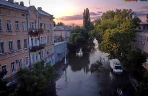 В Одессе ожидают сильный дождь с ураганом