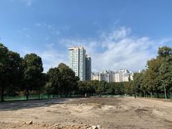 В Одессе начали ремонт сквера, в котором установят памятник героям АТО