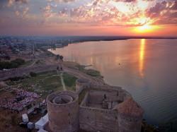 м крепость Белгород-Днестровский, Аккерман с высоты