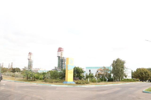 Одесский припортовый завод прекратил работу