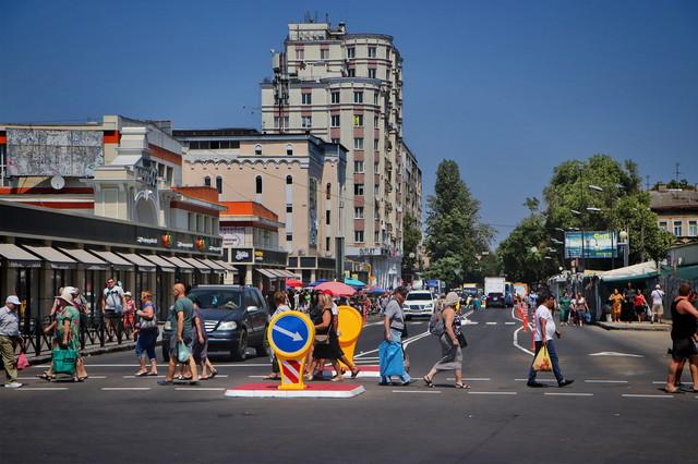 В Одессе определили места для новых островков безопасности на дорогах