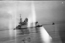 Как в Одессе принимали трофейные итальянские военные корабли (ФОТО)