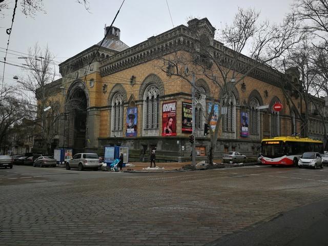 Здание филармонии в Одессе законсервируют
