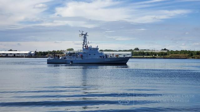 Для ВМС Украины начинают испытывать пятый патрульный катер